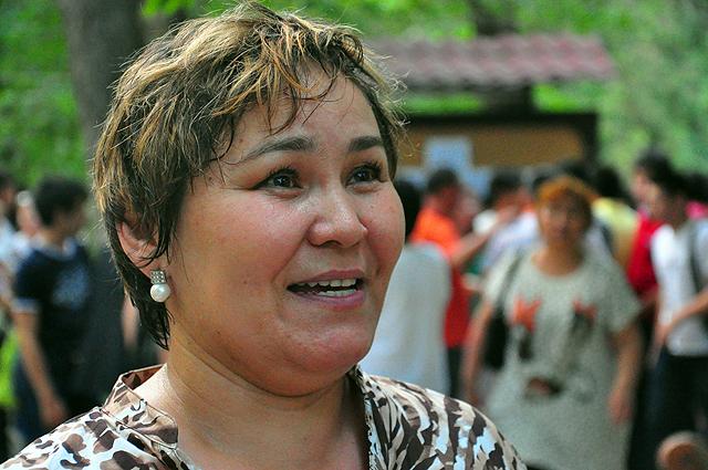 Мама выпускника, который набрал 108 баллов,  Жанат Сеилханкызы была на седьмом небе от счастья.
