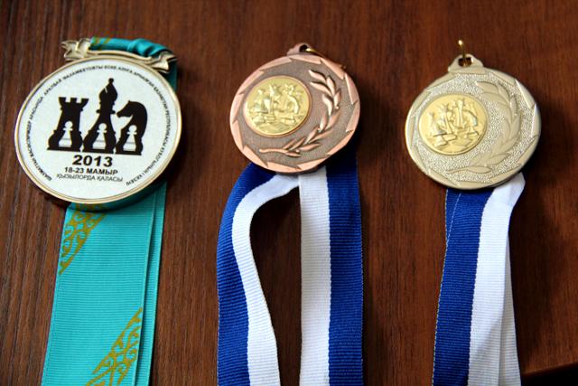 Бронза и серебро чемпионата Мира по шахматам.