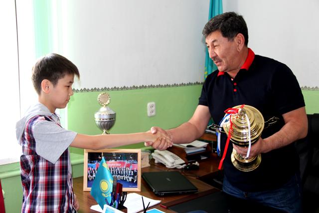 На первом этапе Кубка РК нашим спортсменам удалось занять первое место и завоевать главный трофей турнира.