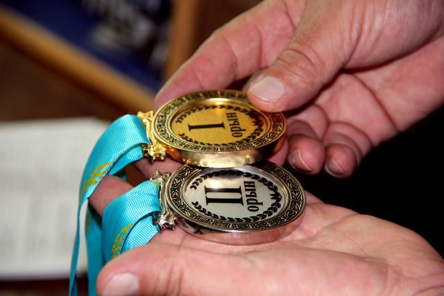 Награда высшей пробы и бронза первого этапа Кубка РК