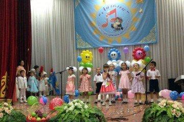 Дети в возрасте 5- 6 лет показали свой талант