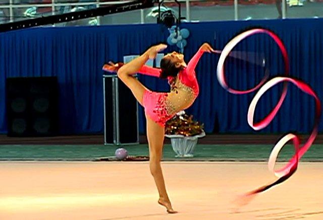 Художественная гимнастика. Дисциплина с лентой