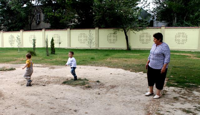 Галина Калашникова каждый день приводила сюда внука