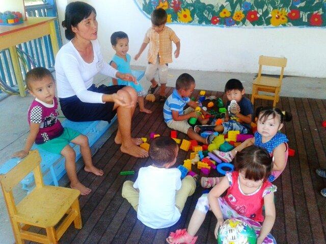 В детском коррекционном центре воспитываются 45 детей