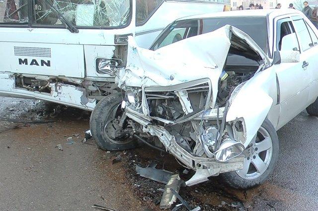 7 ДТП за два дня произошло в Шымкенте
