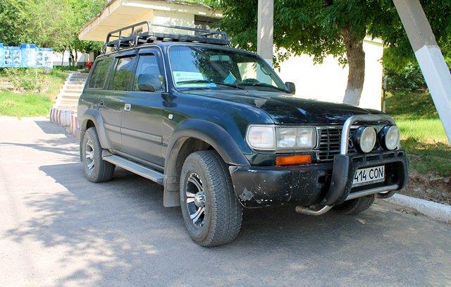 Стартовал автопробег, посвященный воинам, погибшим на таджикско-афганской границы