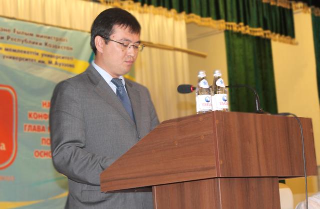 Здесь в честь 15 летия Астаны состоялась большая республиканская научно-практическая конференция под названием «Астана в потоке истории»
