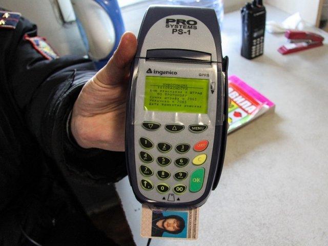 Электронные чипы в водительских удостоверениях оказались пустышками