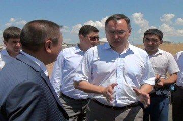 Аким области, Аскар Мырзахметов нанес визит в Толебийский район