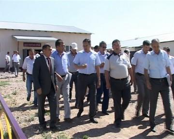 """По реализации программы поддержки сельского хозяйства """"Даму"""", Сарыагашский район занимает последнее место"""
