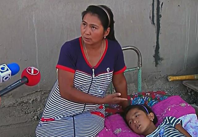 Мама Дианы несколько раз возила девочку в больницу