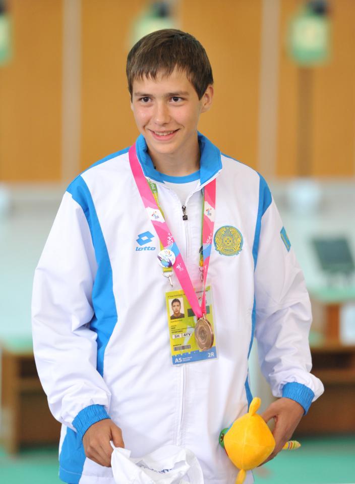 Шымкентский стрелок Давид Почивалов с бронзовой наградой