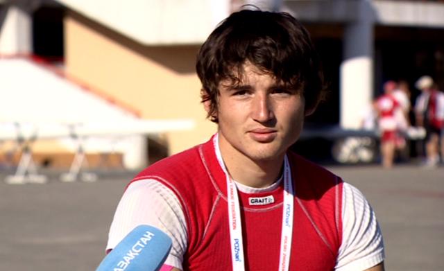 Сергей Емельянов на Кубке Мира
