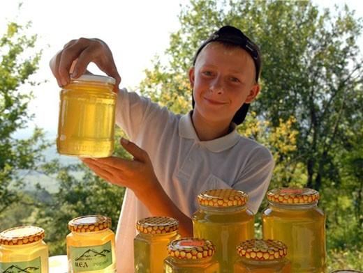 Мед нового урожая представляют пчеловоды со всей области