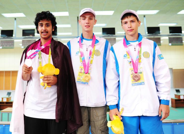 Призеры вторых молодежных Азиатских игр