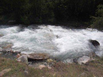 Такая она неспокойная и шумная река Сайрам су.