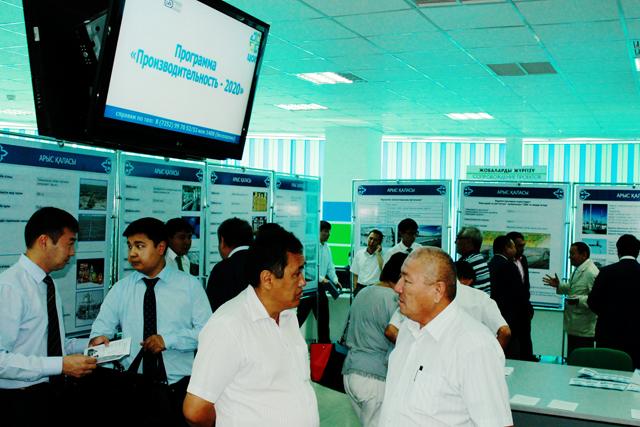 Главной задачей выставки является реализация проектов, представленных районами ЮКО