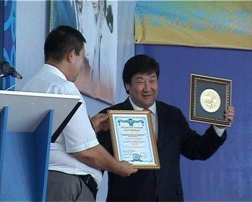 "Бронзовая медаль ""Лидер Казахстана 2013"""