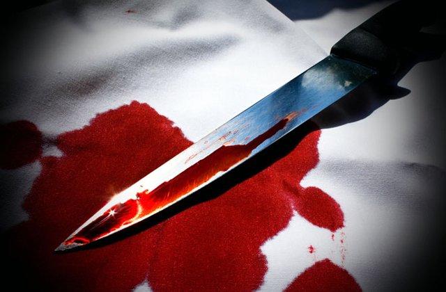 Нож. Кровь