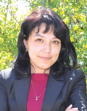 Саида Турсуметова.