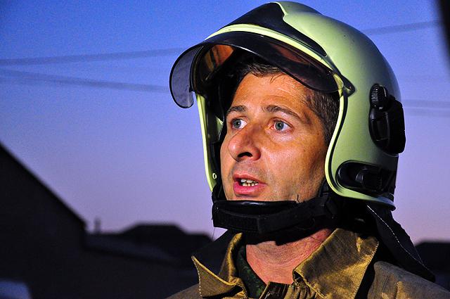 Пожар тушили 57 пожарных