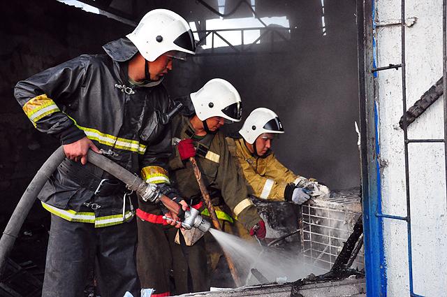 Пожар потушили за 20 минут