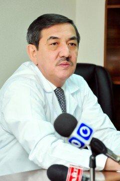 Мади Бигалиев, главный врач БСМП (фото Юсупали Курбанова)