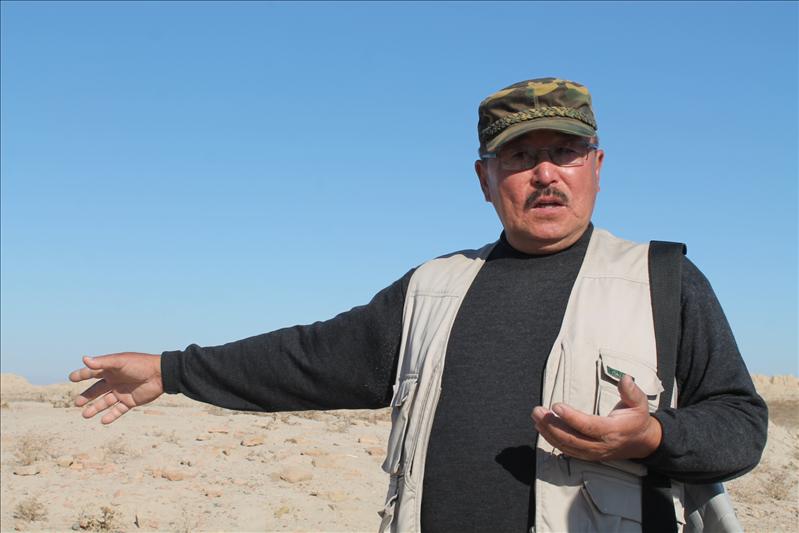 Ербулат Смагулов, кандидат исторических наук, начальник Туркестанской археологической экспедиции