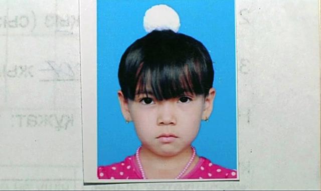 Нурай Омирали, похищенная девочка