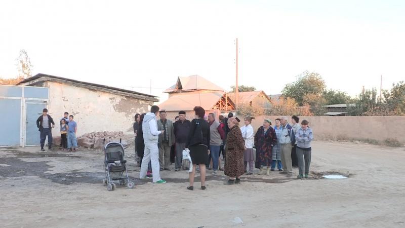 Сход жителей по улице Берута поселка Чапаевка