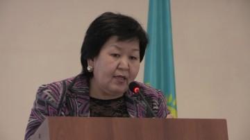 Заместитель акима города Шымкента Гульжан Курманбекова