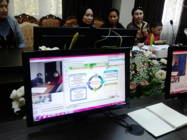 В онлайн-конференции приняли участие 5 школ