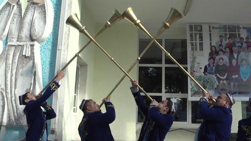 Национальный духовный музыкальный инструмент - Карнай