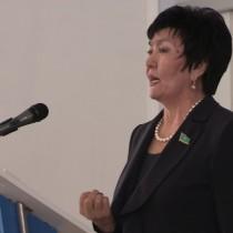 Депутат МП РК Оразкуль Асангазиева   говорила вдохновенно