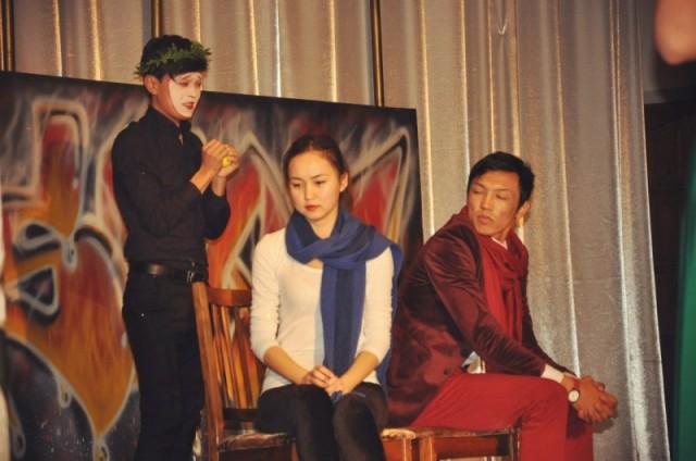 Театральное выступление