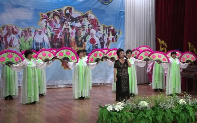 Зрители увидели танцы различных народов Казахстана