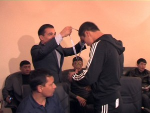 Шымкентский борец стал бронзовым призером чемпионата Мира по казакша курес