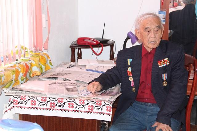 Однокомнатную квартиру ветеран войны получил в микрорайоне Нурсат