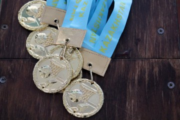 Золотые медали второго тура чемпионата РК по баскетболу
