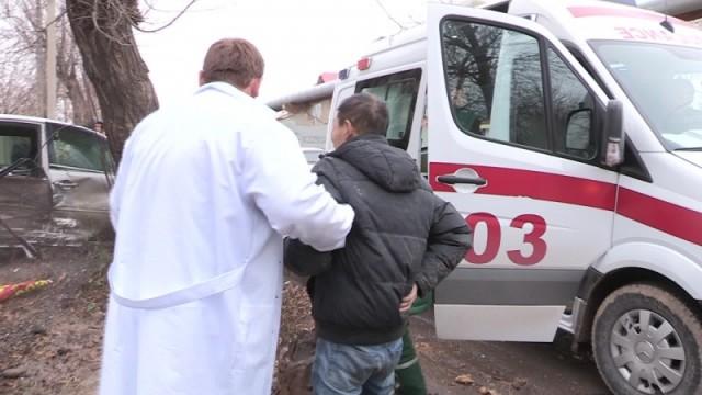 Участники ДТП были госпитализированы БСМП с различными травмами