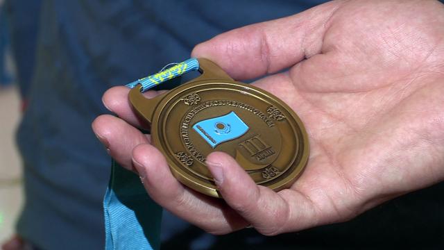 Бронзовая награды Чемпионата РК по Street Workout Дмитрия Подебида