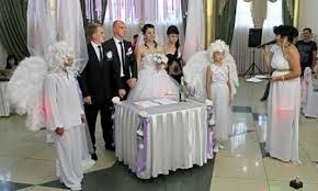 Церемония бракосочитания Анастасии Прилепы