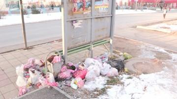 Выбросить мусор не в контейнер, а где удобно