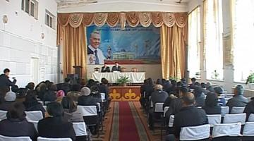 Аким Аль-Фарабийского района рассказал тассайцам о присоединении к городу