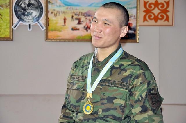 Джамболат Ракчаулы, серебряный призер соревнований