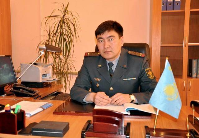 Заместитель начальника департамента по делам обороны ЮКО, Нурмаханбет Дюйсебаев