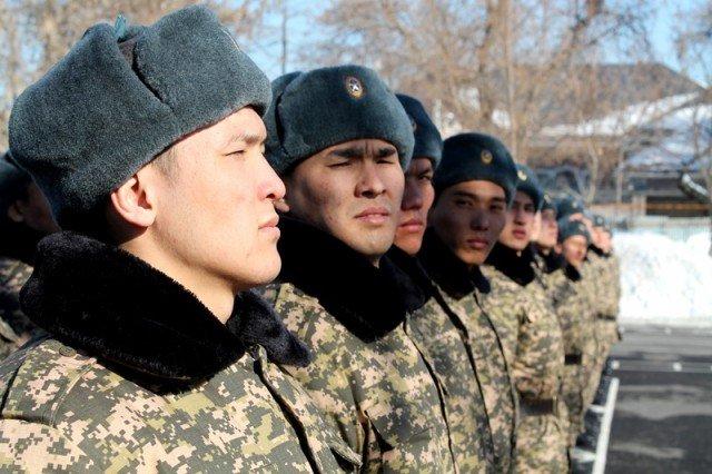 Армейскую службу в Шымкенте можно пройти за 40 дней