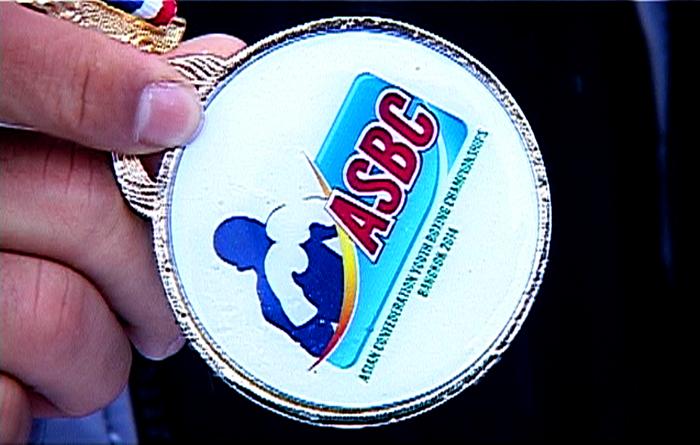 Золото чемпионата Азии по боксу
