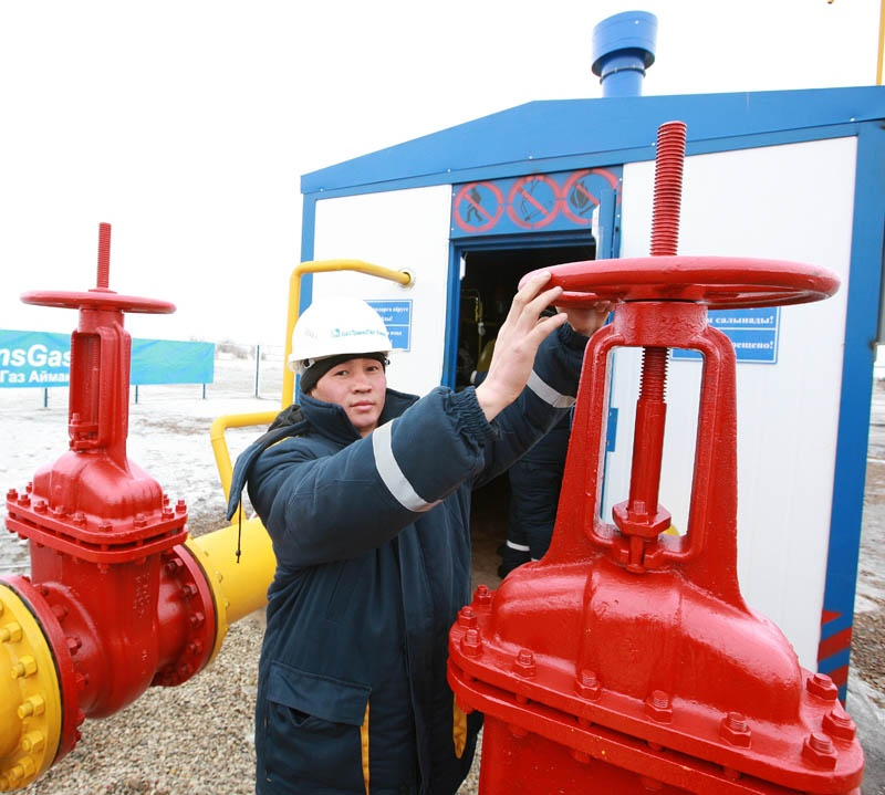 Пуск газа в Туркестане