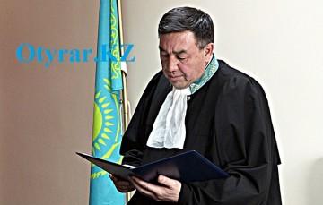 Председатель Енбекшинского суда Низамеддин Жамашев